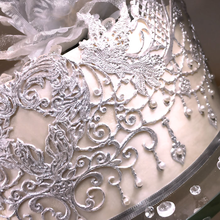 Crystal Candy Lace Mat Chandelier Love