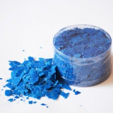 Edible Flakes Vivid Blue