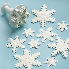 Snowflake cutter and plunger