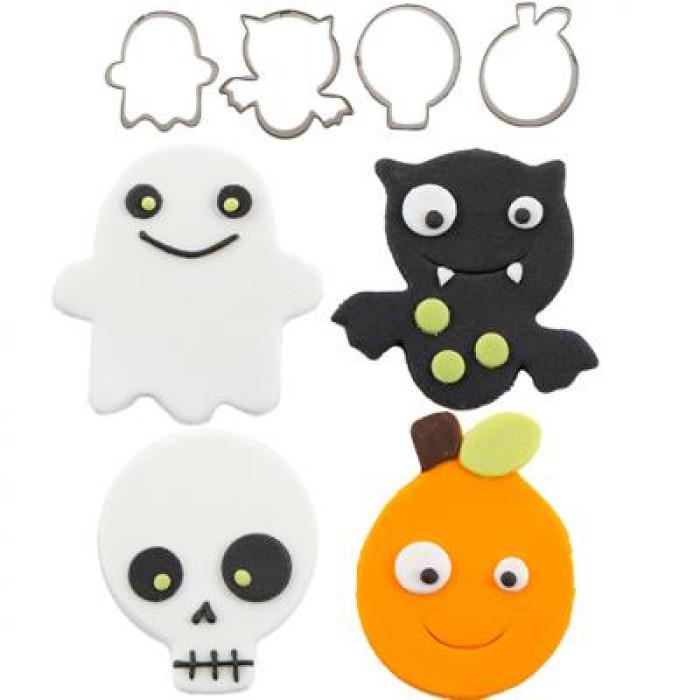 Cutie Cupcake Cutter Set - Halloween