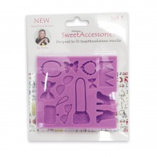 Sweet Revolutions by Domy Accessories Mold (Set 1)