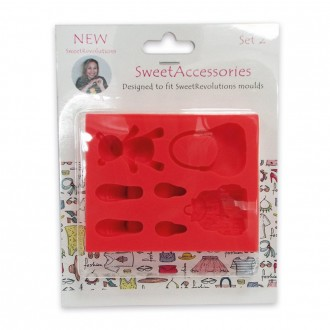 Sweet Revolutions by Domy Accessories Mold (Set 2)