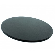"Cake Drum Round Black Foil, 10"" x 1/2 Inches"