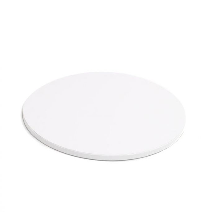 """Cake Drum Round White, 10"""" x 1/2 Inches"""