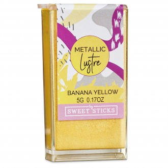 Edible Art Metallic Lustre Dust- Banana Yellow (5g)