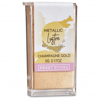 Edible Art Metallic Lustre Dust- Champagne Gold (5g)