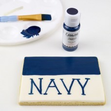 Edible Art Decorative Paint 15ml - Navy from Shawna McGreevy from Cakeheads