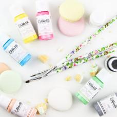 Edible Art Decorative Paint Pastel 8 Pack - 15ml