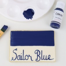Edible Art Decorative Paint 15ml - Blue Sailor