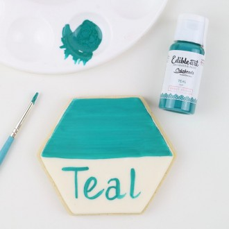 Edible Art Decorative Paint 15ml - Teal (In Collaboration with Shawna McGreevy from Cakeheads)