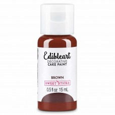 Edible Art Decorative Paint 15ml - Brown