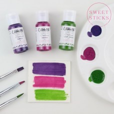 Edible Art Decorative Paint Sharon Wee Creations Paint Kit - Trio Pack