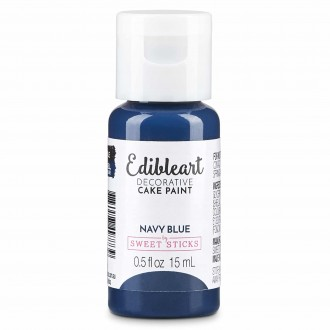 Edible Art Decorative Paint 15ml - Blue Navy (In Collaboration with Shawna McGreevy from Cakeheads)