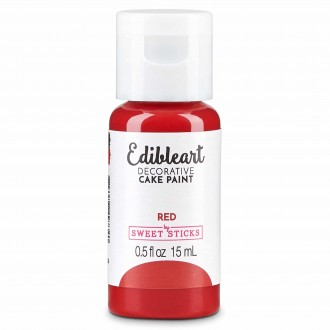 Edible Art Decorative Paint 15ml - Red