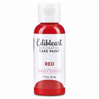Edible Art Decorative Paint 50ml - Red
