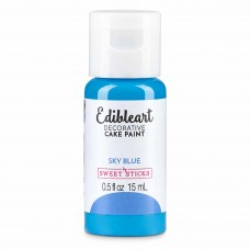 Edible Art Decorative Paint 15ml - Blue Sky Blue