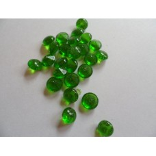Edible Sugar Diamonds Emerald (0.6cm)