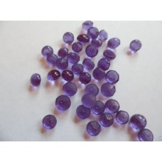 Edible Sugar Diamonds Lavender (0.6cm)