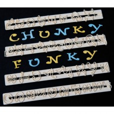 FMM Tappit Chunky Funky Letters & Numbers 2cm