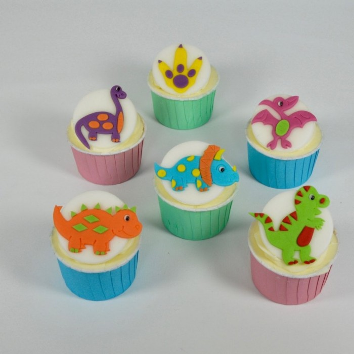 FMM Cute Dinosaurs Cutter Set