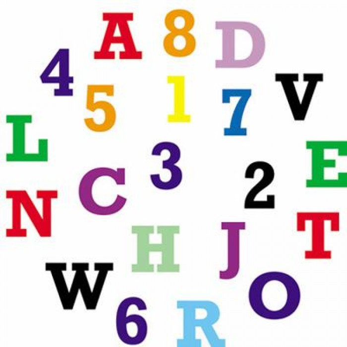 FMM Tappit Alphabet and Numbers Upper Case 1.5cm