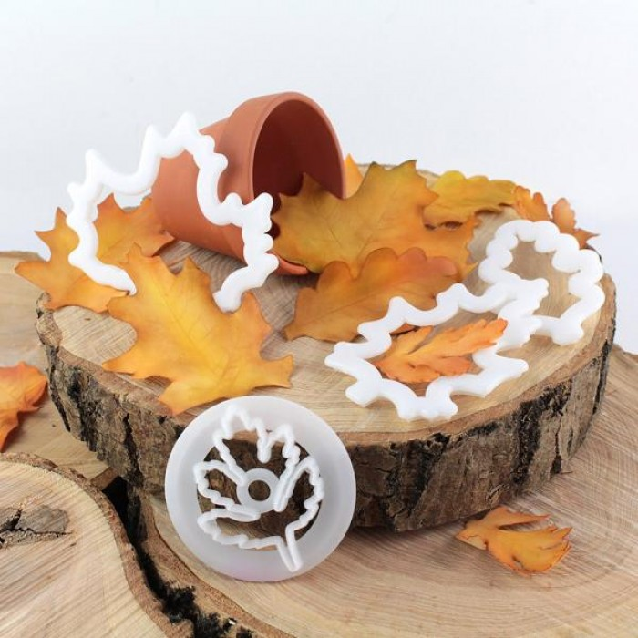 Fmm Seasonal Leaves Cutter Set