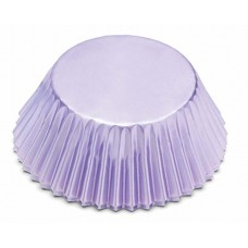 Foil Bake Cups Light Purple (Quantity 32)