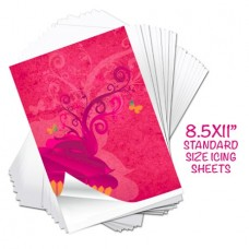 Supreme Icing  Sheets 8.5 x 11 Std from Ink4Cakes