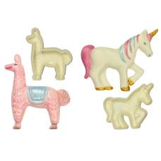 Jem Easy Pops  Exotic Animals (Set of 2) Llama & Unicorn
