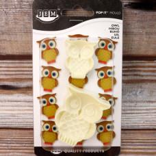 Jem Easy Pops Owl (Set of 2)