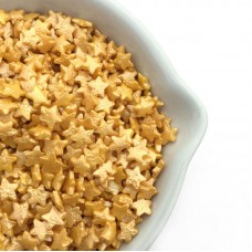 Shimmering Gold Stars (4 oz) 100% Natural