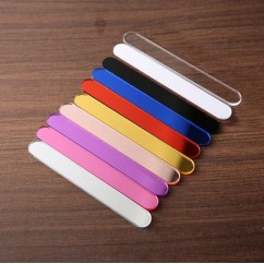 """Acrylic Sticks for Popsicle or Cake Sicle 4-1/2"""" (Package of 12) 6 Black and 6 rose gold"""