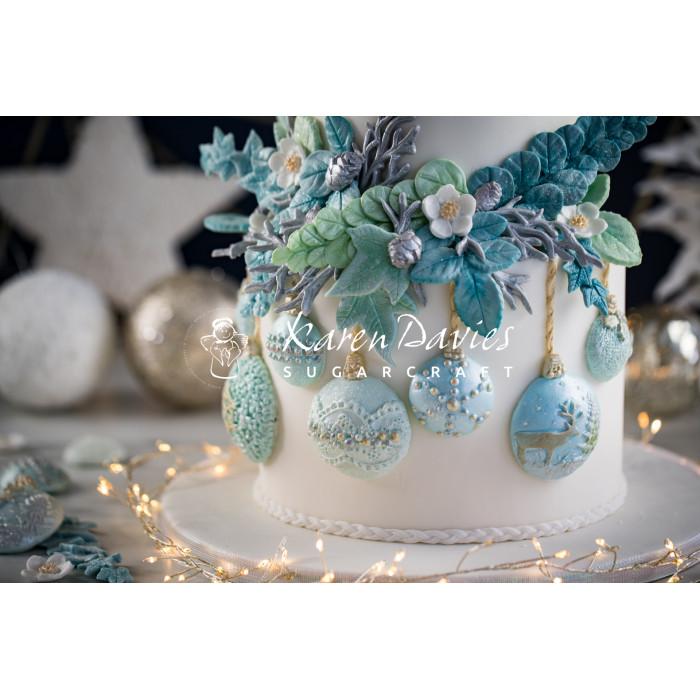 Karen Davies Christmas Baubles Cookie Mold