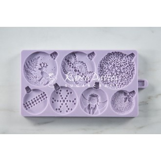 Karen Davies Christmas Baubles Cookie Mold