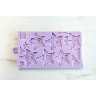 Karen Davies Christmas Stars Cookie Mold