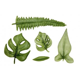 Karen Davies Tropical Leaves