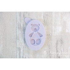 Karen Davies Small Teddy Bear Silicone Mold