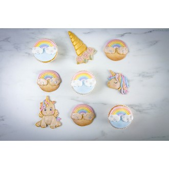 Karen Davies Unicorn Cookie Mould