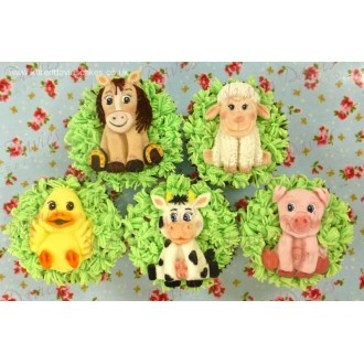 Karen Davies Farm Animals Silicone Molds
