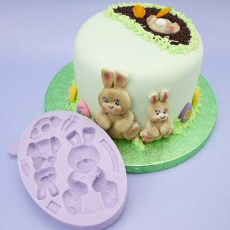 Karen Davies Easter Bunnies Mould