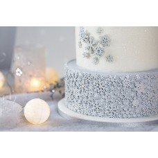 Karen Davies Sugar Snowflakes Mould