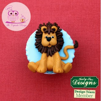Lion Sugar Button Silicone Mold