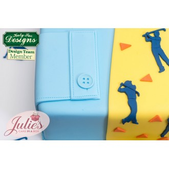 Golf Silhouettes Silicone Mold