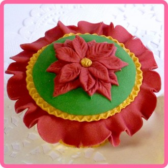 Poinsettia Topper Mould