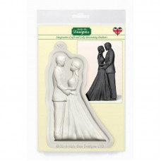 Bride and Groom Silicone Mold