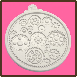 Cogs & Wheels Silicone Mold