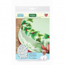 Holly & Mistletoe  Silicone Embossers