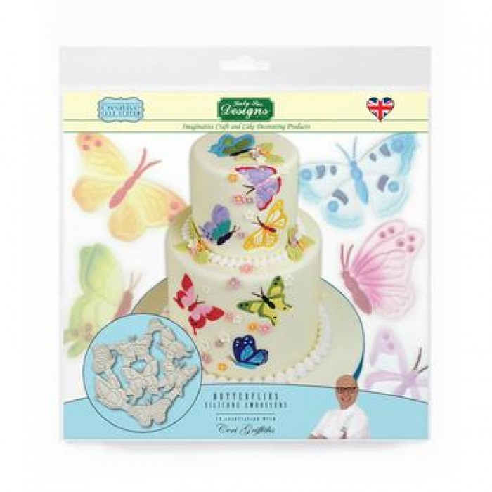 Butterflies Silicone Embossers