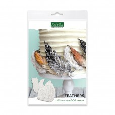 Feathers Silicone Mould and Veiner