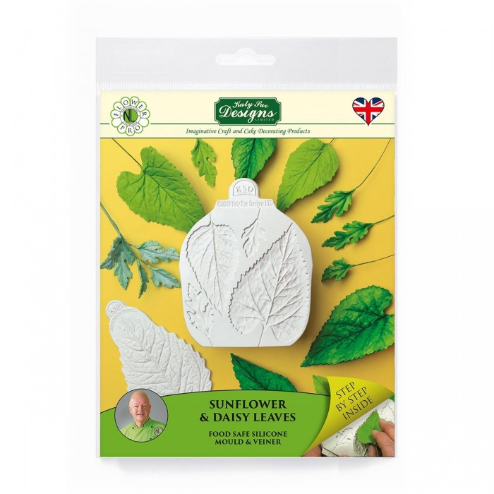 Flower Pro Sunflower / Daisy Leaves Mould and Veiner